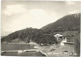 X4203 Baselga Di Pinè (Trento) - Lago Della Serraia - Il Lido - Panorama / Viaggiata 1962 - Italia