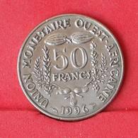 WEST AFRICAN STATES 50 FRANCS 1996 -    KM# 50 - (Nº25027) - Autres – Afrique