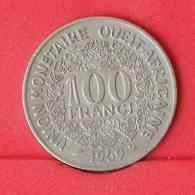 WEST AFRICAN STATES 100 FRANCS 1969 -    KM# 4 - (Nº25028) - Autres – Afrique