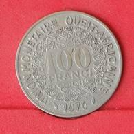 WEST AFRICAN STATES 100 FRANCS 1976 -    KM# 4 - (Nº25029) - Autres – Afrique