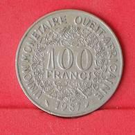WEST AFRICAN STATES 100 FRANCS 1987 -    KM# 4 - (Nº25030) - Autres – Afrique