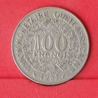 WEST AFRICAN STATES 100 FRANCS 1987 -    KM# 4 - (Nº25030) - Monnaies