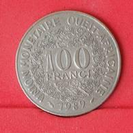 WEST AFRICAN STATES 100 FRANCS 1989 -    KM# 4 - (Nº25032) - Autres – Afrique