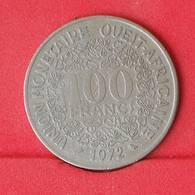 WEST AFRICAN STATES 100 FRANCS 1972 -    KM# 4 - (Nº25033) - Autres – Afrique