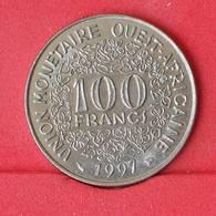 WEST AFRICAN STATES 100 FRANCS 1997 -    KM# 4 - (Nº25034) - Autres – Afrique