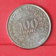 WEST AFRICAN STATES 100 FRANCS 2002 -    KM# 4 - (Nº25036) - Autres – Afrique
