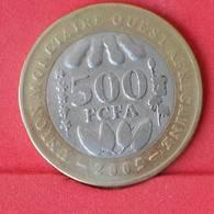 WEST AFRICAN STATES 500 FRANCS 2005 -    KM# 15 - (Nº25037) - Autres – Afrique