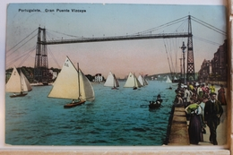 AK Portugalete Gran Puente Vizcaya 1913 Gebraucht #PD671 - Unclassified