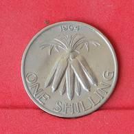 MALAWI 1 SHILLING 1964 -    KM# 2 - (Nº25038) - Malawi