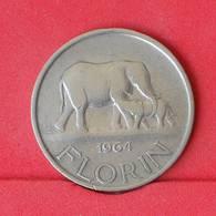 MALAWI 1 FLORIN 1964 -    KM# 3 - (Nº25039) - Malawi