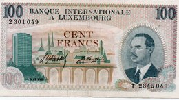 LUXEMBOURG 100 FRANCS 1968 XF - Luxembourg
