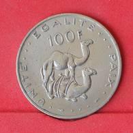 DJIBOUTI 100 FRANCS 1977 -    KM# 26 - (Nº25041) - Djibouti