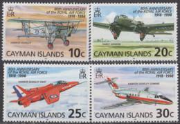 CAIMANES - 80e Anniversaire De La RAF - Iles Caïmans