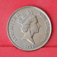 NEW ZEALAND 10 CENTS 1988 -    KM# 61 - (Nº25052) - New Zealand