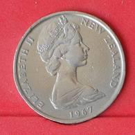NEW ZEALAND 50 CENTS 1967 -    KM# 37,1 - (Nº25054) - New Zealand