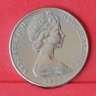 NEW ZEALAND 50 CENTS 1980 -    KM# 37,1 - (Nº25055) - New Zealand
