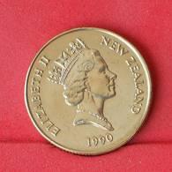 NEW ZEALAND 1 DOLLAR 1990 -    KM# 78 - (Nº25057) - New Zealand