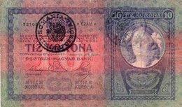 ROMANIA 10 KORONA-TIMBRU SPECIAL - Romania