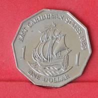 EAST CARIBBEAN STATES 1 DOLLAR 1989 -    KM# 20 - (Nº25060) - East Caribbean States