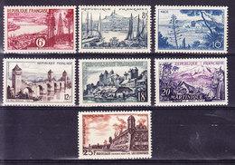 FRANCE YT 1036/42 * MH,  (STRF668) - Unused Stamps