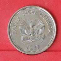 PAPUA NEW GUINEA 20 TOEA 1987 -    KM# 5 - (Nº25067) - Papouasie-Nouvelle-Guinée