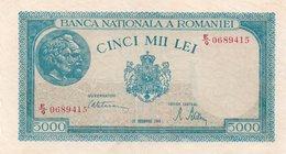 ROMANIA 5000 LEI 20-12-1945 - Romania