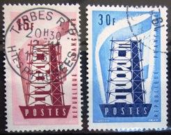FRANCE             N° 1076/1077               OBLITERE - Used Stamps