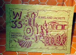 W 35 JEANS AND JACKETA ORGINAL AMERICAN JEANS - Altri