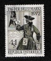 AUSTRIA, 1972, Cancelled Stamp(s) , Stamp Day, Mi 1404,  Scan U4099, - 1945-.... 2nd Republic