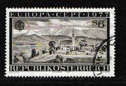 AUSTRIA, 1977, Cancelled Stamp(s) , Europa, Mi 1553,  Scan U4128, - 1945-.... 2nd Republic