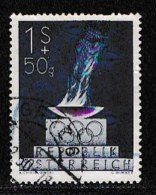 AUSTRIA, 1948, Cancelled Stamp(s) , Olympic Games, Mi 854,  Scan U15029, - 1945-60 Used