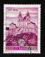 AUSTRIA, 1963, Cancelled Stamp(s) , Stift Milk, Mi 1128,  Scan U15101, - 1945-.... 2nd Republic