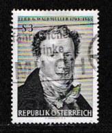 AUSTRIA, 1965, Cancelled Stamp(s) , Waldmuller, Mi 1193,  Scan U15125, - 1945-.... 2nd Republic