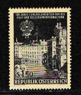 AUSTRIA, 1966, Cancelled Stamp(s) , PTT Headquarters, Mi 1202,  Scan U15133, - 1945-.... 2nd Republic
