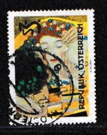 AUSTRIA, 1964, Cancelled Stamp(s) , The Kiss, Mi 1154,  Scan U15112, - 1945-.... 2nd Republic