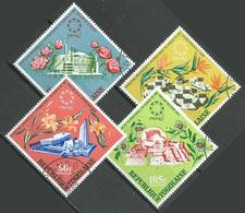 Togo Poste Aérienne YT N°71/74 Exposition Universelle De Montréal 1967 Oblitéré ° - Togo (1960-...)