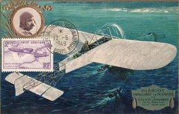 CARTE MAXIMUM   LOUIS BLERIOT   (TRES TRES RARE) CERTAINEMENT UNIQUE - Flugzeuge