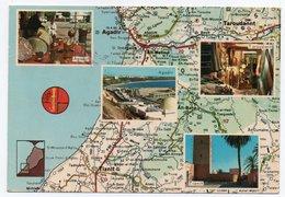 MAROC - MAP/D'APRES CARTE MICHELIN N.169 / AGADIR / TAROUDANT / TIZNIT - Marocco