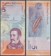 Venezuela - 5 Bolivares 2018 UNC Ukr-OP - Venezuela