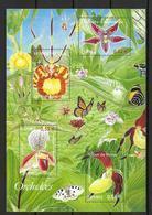 France 2005 Bloc Feuillet 81 Neuf Fleurs Et Papillons à La Faciale - Sheetlets