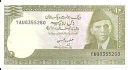 PAKISTAN 10 RUPEES ND1983-84 UNC(leger Trou Agraffe)  P 39 - Pakistan