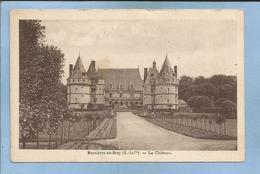 Mesnières-en-Bray (76) Le Château 2 Scans (allée Du Jardin Jusqu'à L'entrée Principale Du Château) 1940 - Mesnières-en-Bray