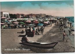 Lido Di Jesolo (Venezia): Spiaggia. Viaggiata 1956 - Venezia