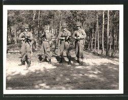 Fotografie Bundeswehr, Soldaten Mit Sturmgewehr - Guerre, Militaire