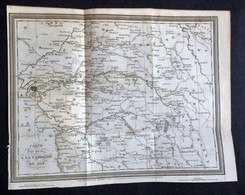 Carte Ancienne POUR SERVIR À LA CAMPAGNE DE 1814, Gravée Par A.Tardieu. - Maps
