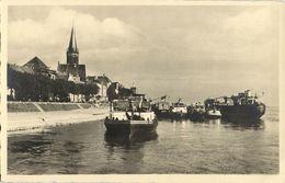 EMMERICH, Rhein Mit Schiffe (1930s) AK - Emmerich