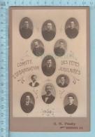 Photo CDV - Comité D'organisation Des Fetes Jubilaires Du 19 Au 21 Juin 1900 - Seminaire St-Charles Sherbrooke Quebec - Photographs