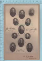 Photo CDV - Les Prètres Du Seminaire St-Charles Borromée De 1899 à 1900 Sherbrooke Quebec - Photographs
