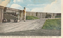Interior Of The North-East Bastion, Fort George, Niagara-on-the-Lake, Ontario - Ontario