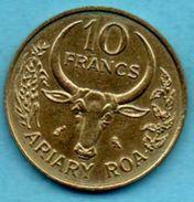 T1/ MADAGASCAR 10 Francs 1970 FAO - Madagascar